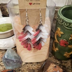 3 for $15 Beautiful handmade Dangle earrings
